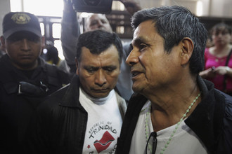 Военные, убившие крестьян-индейцев 30 лет назад, предстали перед судом Гватемалы