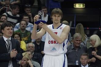 Андрей Кириленко имеет возможность выиграть свой первый еврокубок в карьере