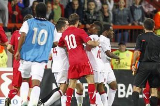 Сербский футбольный союз может поплатиться за несдержанность игроков и болельщиков