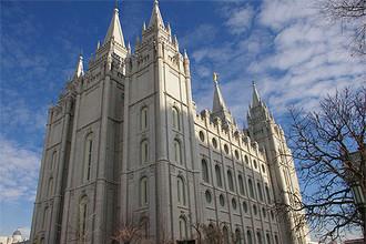 Главный храм секты мормонов, которые так раздражают РПЦ