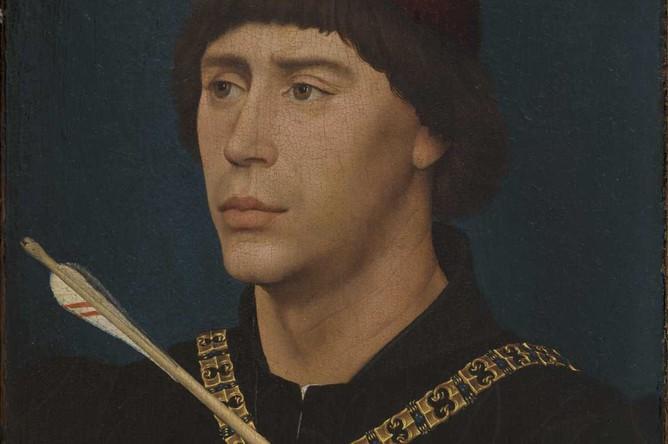 Рогир ван дер Вейден. Портрет Антуана Бургундского