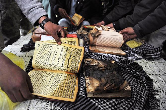 Полиция Москвы задержала мужчину, подозреваемого в сожжении Корана