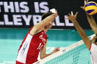 Сборная России не без труда одолела Иран в матче «Финала шести» Мировой лиги