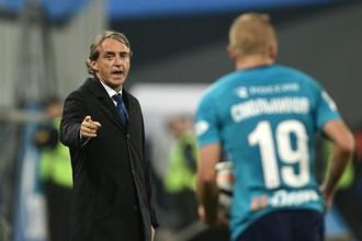 Главный тренер «Зенита» Роберто Манчини