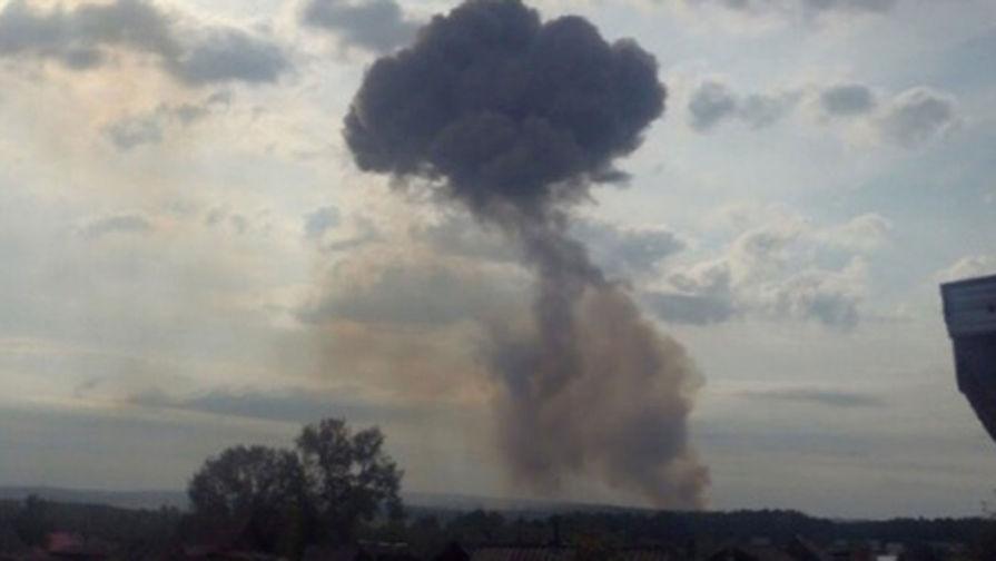 Возросло число пострадавших при взрывах на складе боеприпасов в Ачинске