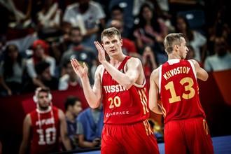 Сборная России по баскетболу вышла в четвертьфинал Евробаскета