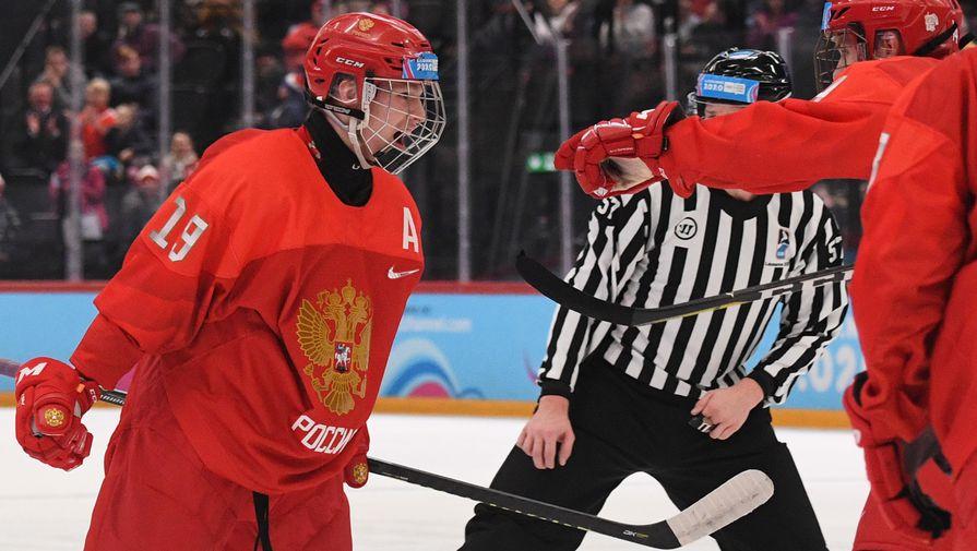 Хоккеист сборной России Матвей Мичков