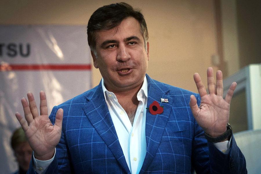 """Саакашвили пообещал вернуться РІР""""СЂСѓР·РёСЋ РІР±Р»РёР¶Р°Р№С€РµРµ время"""