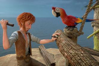 Кадр из мультфильма «Робинзон Крузо: Очень обитаемый остров»