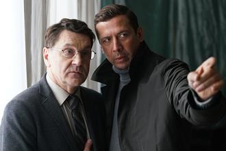 Сергей Маковецкий и Андрей Мерзликин