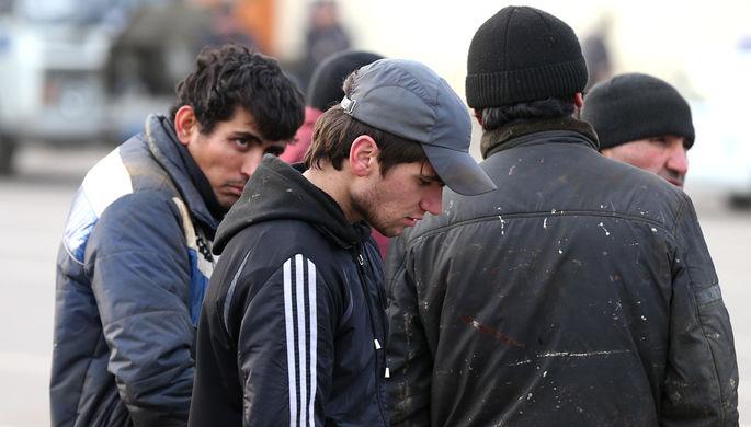 Россия пересчитала мигрантов
