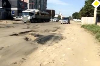 Кадр из видеообращения жителя Краснодара во время «Прямой линии с Владимиром Путиным», 15 июня 2017 года