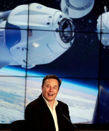 Генеральный директор и главный инженер компании SpaceX Илон Маск, 2 марта 2019 года