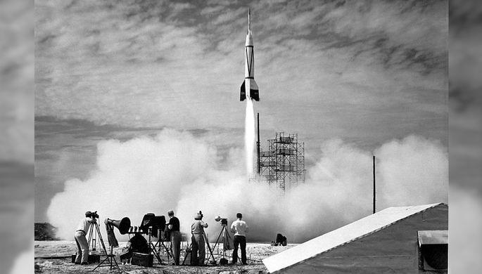 Ракета Bumper V-2 — первая ракета, запущенная с мыса Канаверал 24 июля 1950 года