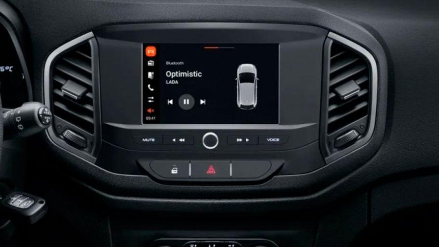 Lada XRay получила упрощенную мультимедиа-систему