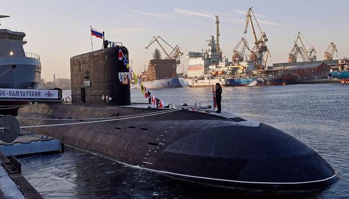 Подводная лодка Б-274 «Петропавловск-Камчатский»