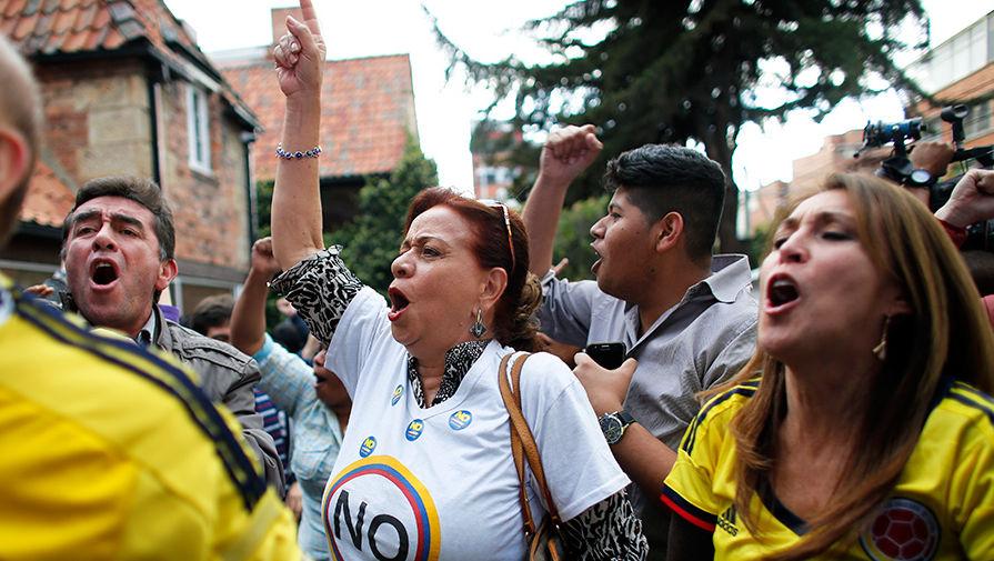 Колумбія проголосувала проти світу