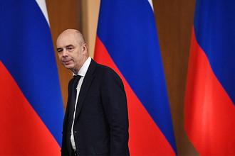 Министр финансов России Антон Силуанов перед началом совместного заседания под председательством президента Владимира Путина в Ярославле, ноябрь 2016 года