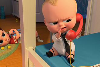 Кадр из мультфильма «Босс-молокосос» (The Boss Baby, 2017)