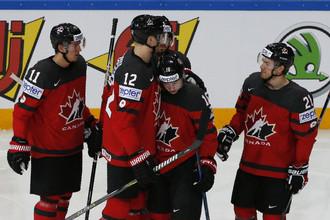 Сборная Канады встречается с Германие в 1/4 финала чмепионата мира по хоккею