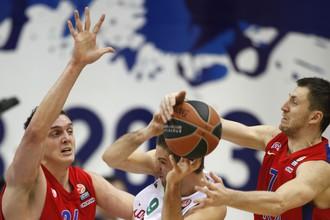 ЦСКА обыграл «Локомотив-Кубань» в матче топ-16 Евролиги