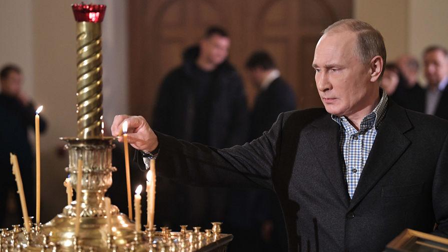 В Кремле рассказали, как Путин отпразднует Пасху