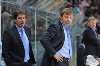Тренеры Олег Знарок и Хариис Витолиньш вдохновили «Динамо» на победу