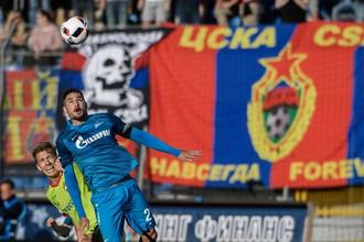 ЦСКА против «Зенита» в чемпионате России по футболу