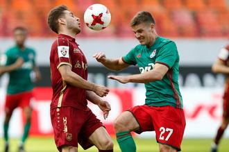 В матче 26-го тура московский «Локомотив» принимает на своем поле казанский «Рубин