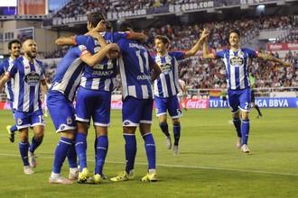 Футболисты испанского клуба «Депортиво»