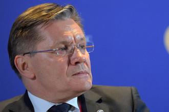 Генеральный директор Государственной корпорации по атомной энергии «Росатом» Алексей Лихачев на Петербургском международном экономическом форуме, 25 мая 2018 года