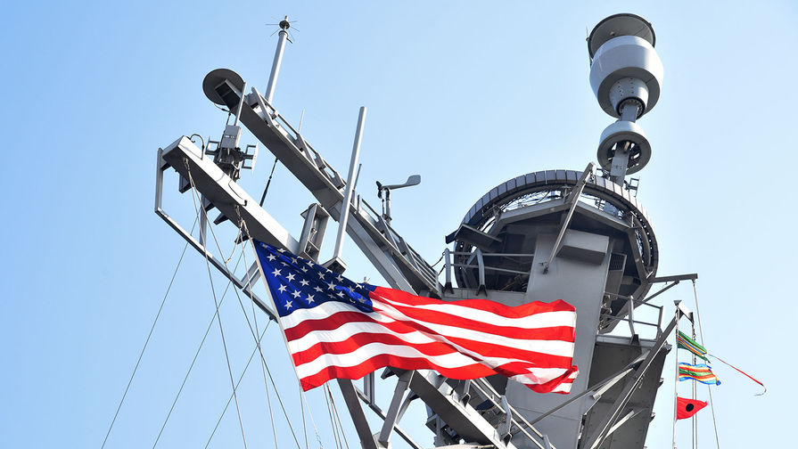 Американский сторожевой корабль вошел в Черное море