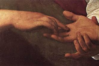 «Гадалка. Деталь: руки (кража кольца)»
