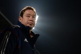 Российский тренер Леонид Слуцкий