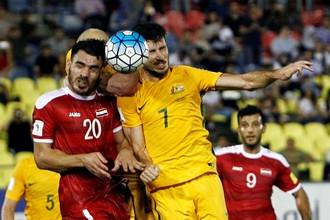 Матч Сирии и Австралии завершился боевой ничьей, несмотря на преимущество номинальных хозяев