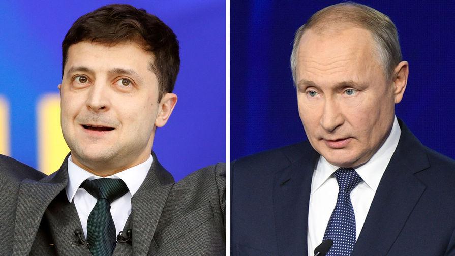 Зеленский рассказал, чего хочет от Путина и нормандского саммита