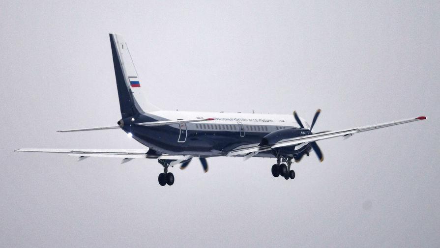 Новый российский пассажирский самолет Ил-114-300 на аэродроме в Жуковском, 16 декабря 2020 года