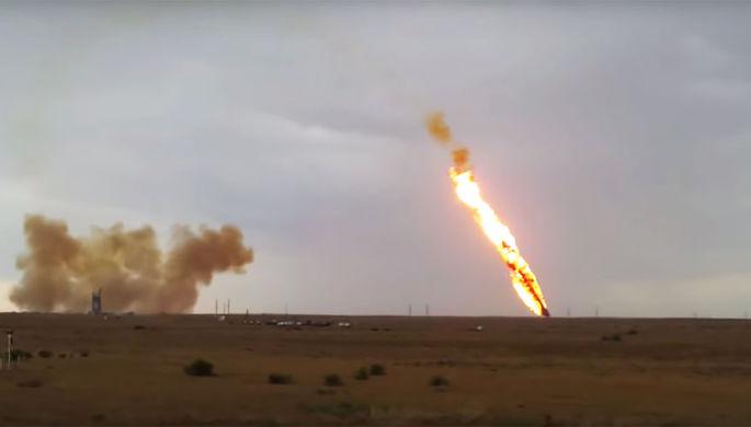 Аварийный запуск ракеты-носителя «Протон М», 2 июля 2013 года