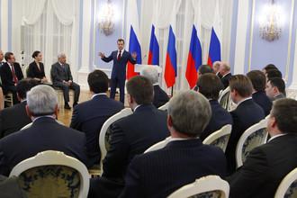 Дмитрий Медведев встретился с активом партии «Единая Россия»