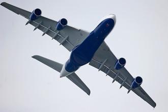 Airbus A380 на авиасалоне в Ле-Бурже