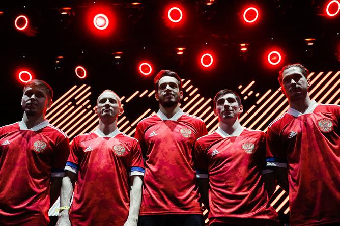 Церемония представления формы сборной России по футболу к чемпионату Европы 2020, 7 ноября 2019 года