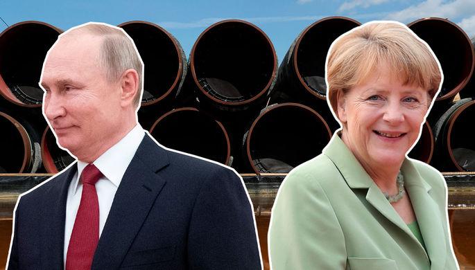 Защитить от санкций: Меркель призвала достроить «Севпоток — 2»
