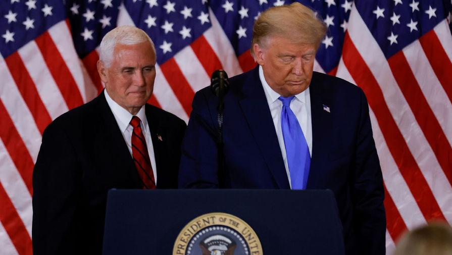 «Пенс разочарован Трампом»: в США обсуждают импичмент