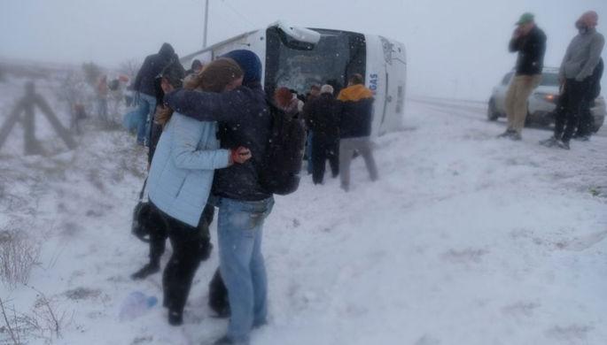 В Турции разбился автобус с туристами из России