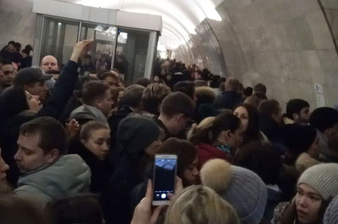 Ситуация в московском метро, 11 декабря 2018 года