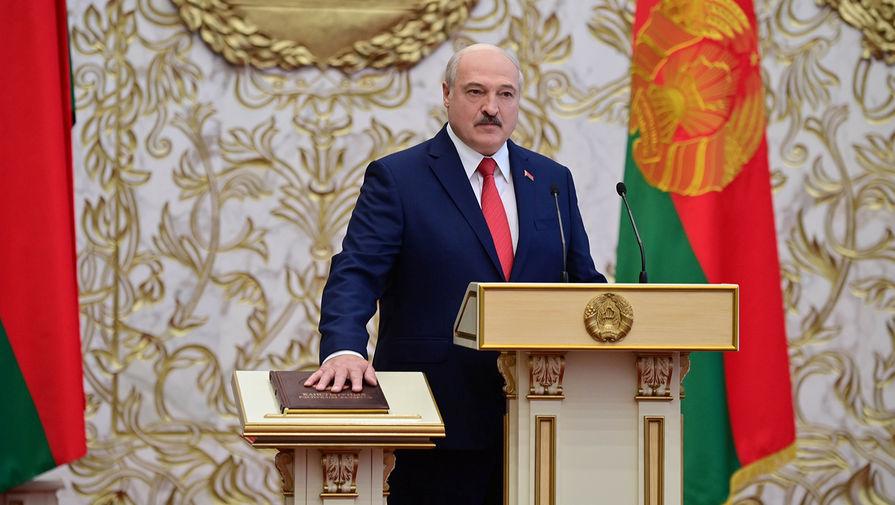 Тайная инаугурация Александра Лукашенко во Дворце независимости, 23 сентября 2020 года