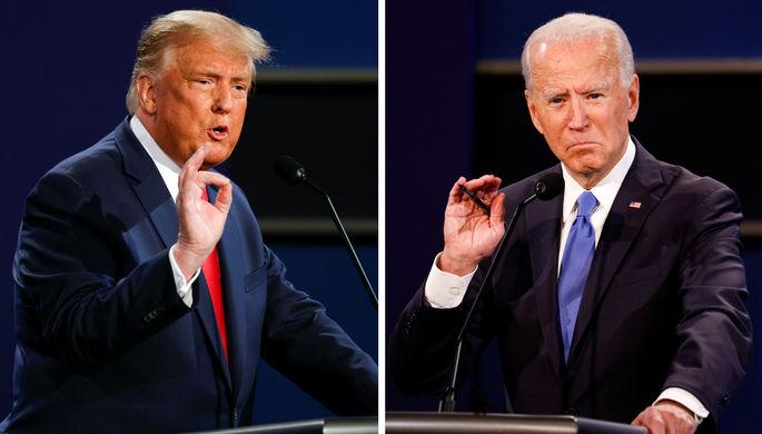 Скандальная кампания: в чем обвиняют Трампа и Байдена