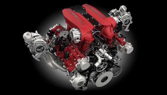Победитель конкурса «Международный двигатель года» — V8 от Ferrari