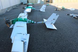 Беспилотные летательные аппараты, которые, по данным Минобороны России, участвовали в атаке на российские военные объекты в Сирии в начале 2018 года