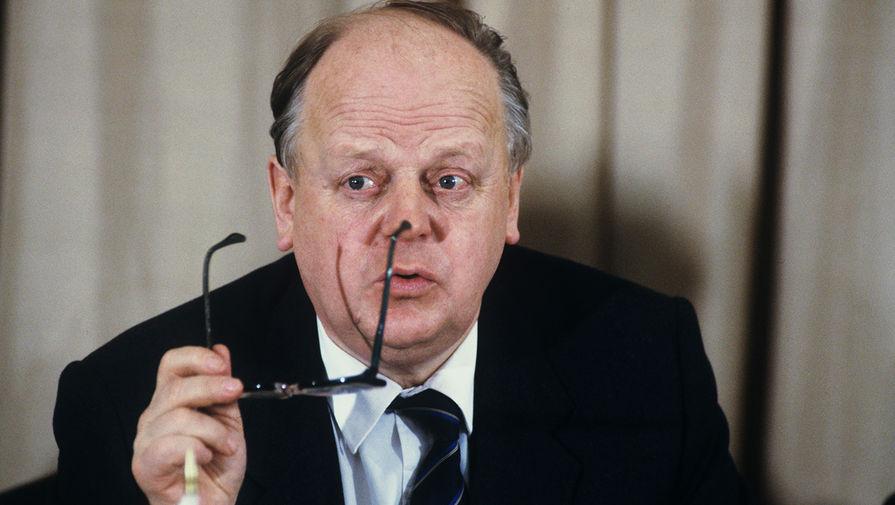 Председатель Верховного совета Республики Беларусь Станислав Шушкевич, 1991 год